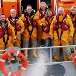Donaghadee's RNLI Lifeboat Saxon and crew ready for action