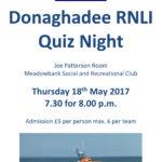 Donaghadee RNLI Quiz Night