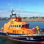 Lifeboat assists injured Birdwatcher